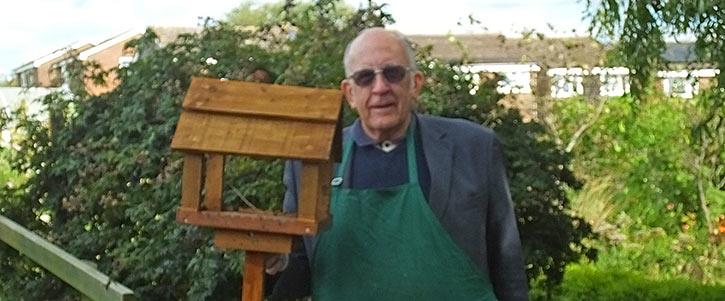 Harold & his birdtable