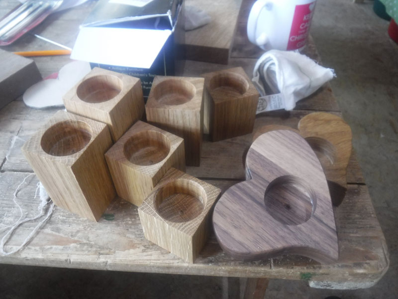 Men's Shed items in production