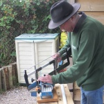 Men's Shed Petworth - commissioned bird table