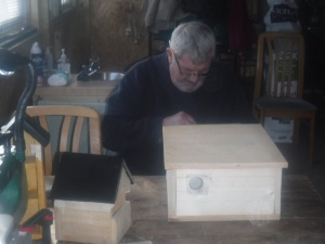 Commissioned hedgehog house