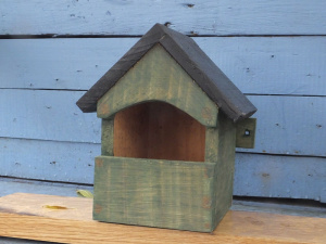 Open fronted nesting box